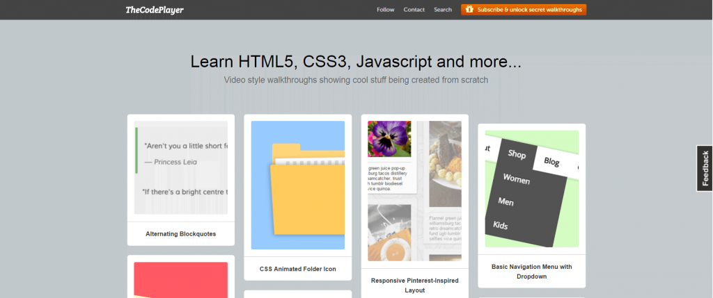 10 Websites that will teach you How to Code 6