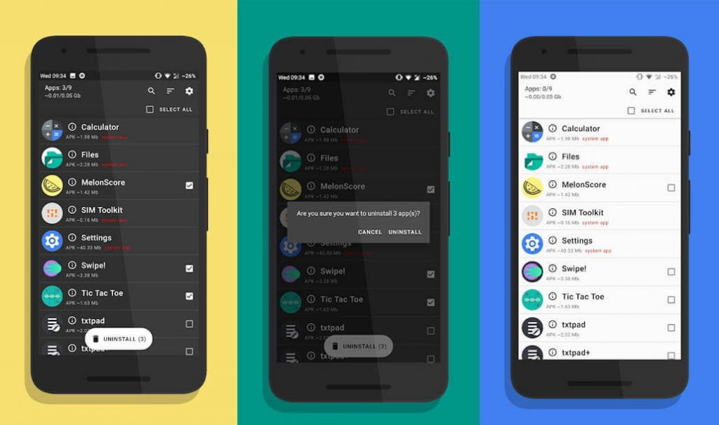 best free android apps - UnApp